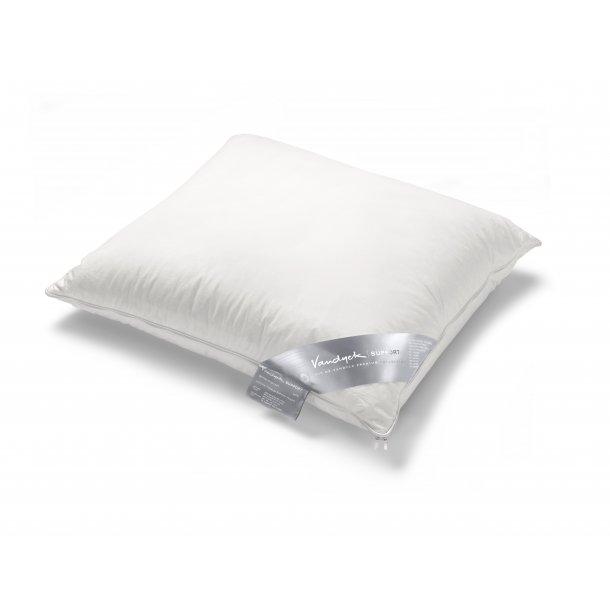 Gåsedunspude med nakkestøtte i latex - Sølv label